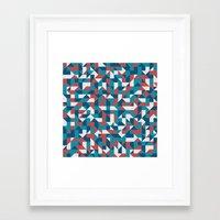 native Framed Art Prints featuring Native by Matt Borchert