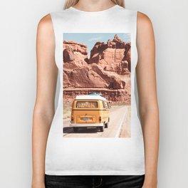 Desert Road Trip Biker Tank