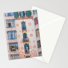 Surreal house in Barcelona. Stationery Cards