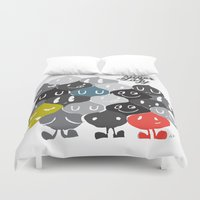 family Duvet Covers featuring Family by inkdesigner