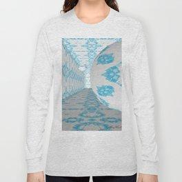 3D Blue 1 Long Sleeve T-shirt
