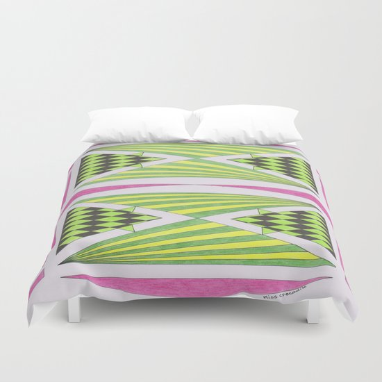 Sweet as Candy Duvet Cover