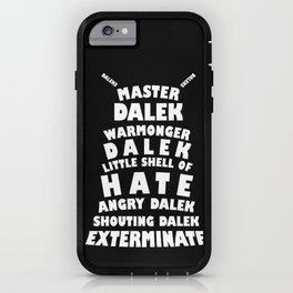 Master Dalek iPhone Case