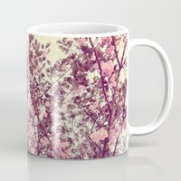 sofa Mugs featuring floral sofa by vibeyantlers