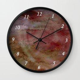 Pink Look Wall Clock