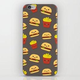 Fastfood pattern iPhone Skin