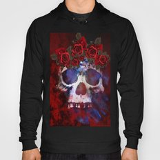Red, White, and Blue Skull Hoody
