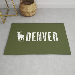 Deer: Denver, Colorado Rug