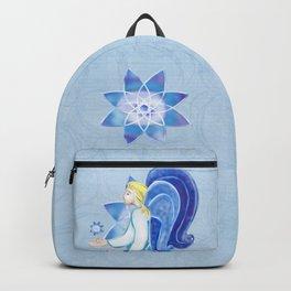 Heavenly Beings Angel Folk Art Backpack