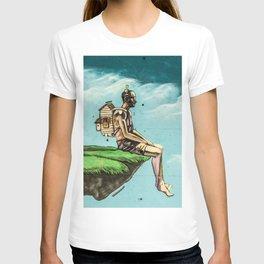 Man on the rock 5 T-shirt