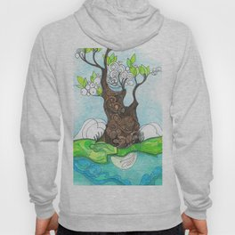 Tree 2 with Water Hoody