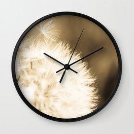 Dandelion Breeze Wall Clock