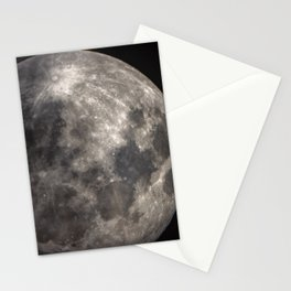 Full Harvest moon Stationery Cards