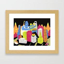 City of Nachos Framed Art Print