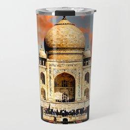 Taj Mahal Dawn Travel Mug