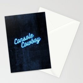 Console Cowboy Stationery Cards