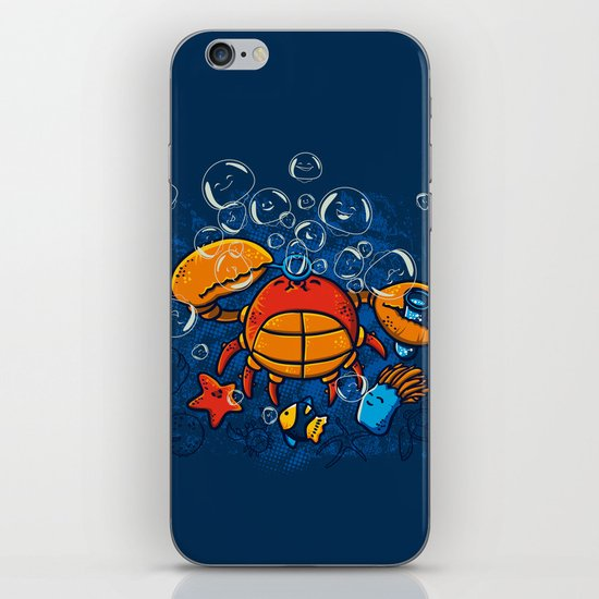 Jellyfishes Birth iPhone & iPod Skin