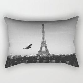 Eiffel Tower (Paris, France) Rectangular Pillow