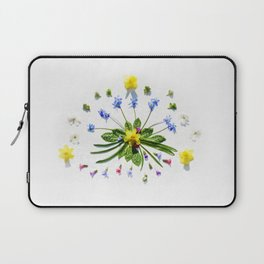 Spring flowers and branches II Laptop Sleeve