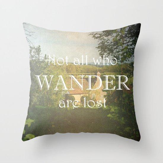 Sunday Cottage Throw Pillow