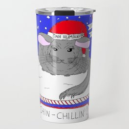 Chin-Chillin' Christmas Travel Mug