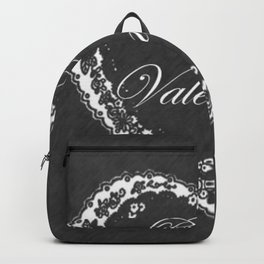Be My Vintage Valentine Chalkboard Backpack