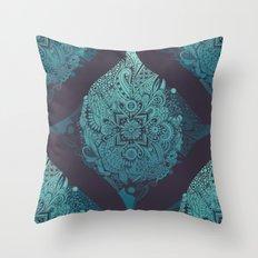 Detailed diamond Throw Pillow