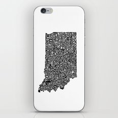 Typographic Indiana iPhone & iPod Skin