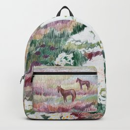 Wild chamomiles Backpack