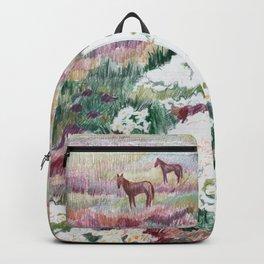 Wild chamomiles Backpack