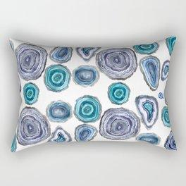 GEODE IN BLUE Rectangular Pillow