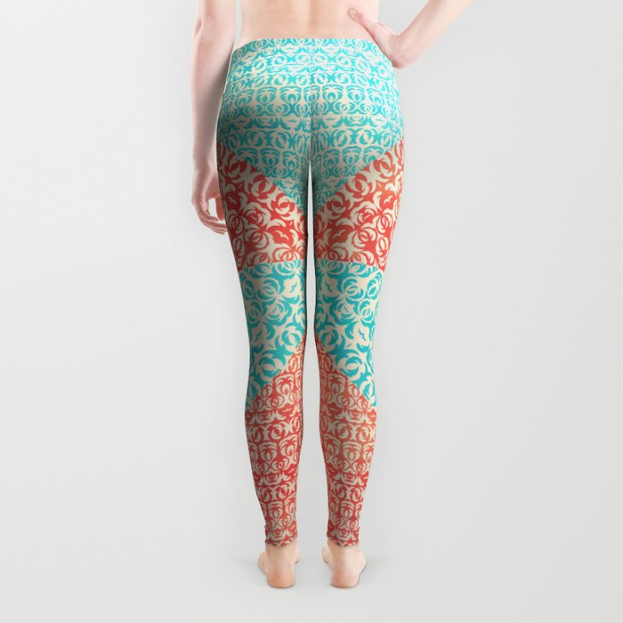 Retro Optical Fantasia Leggings