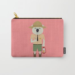 koala ranger with hat Carry-All Pouch