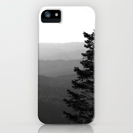 Mountain Layers iPhone Case