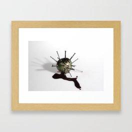 Sin Framed Art Print