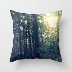 Dual Nature Throw Pillow
