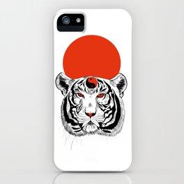 YIN YANG TIGER iPhone Case