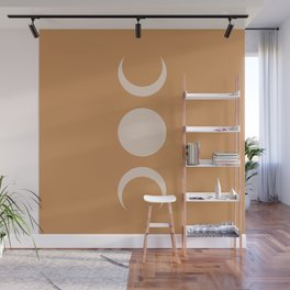 Moon Minimalism - Desert Sand Wall Mural