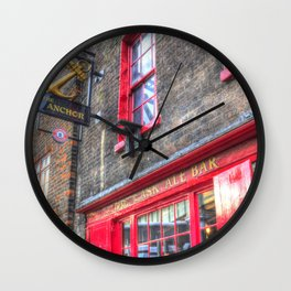 The Anchor Pub London Wall Clock