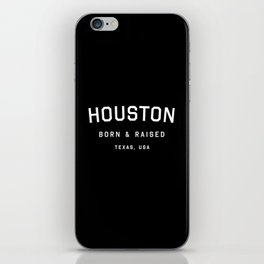 Houston - TX, USA (Arc) iPhone Skin