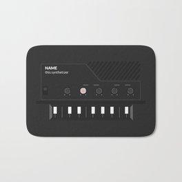 Analog Synth (Monotron) Bath Mat