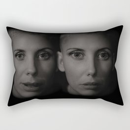 Twin sisters Rectangular Pillow