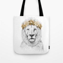Festival lion (color version) Tote Bag