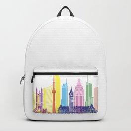 Toronto V2 skyline pop Backpack