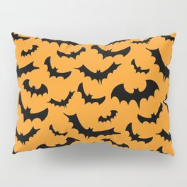 Halloween Bats Pattern Pillow Sham