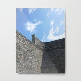 Shadow of the Jail Metal Print