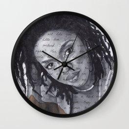 Doo Wop Wall Clock