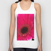 hot pink Tank Tops featuring Hot Pink by Paul & Fe Photography