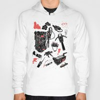 ghostbusters Hoodies featuring Artifacts: Ghostbusters by Josh Ln