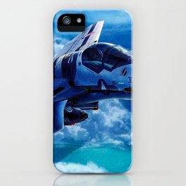 Macross AirCraft VF-1 Valkyrie iPhone Case